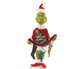 Lifesize Mr. Grinch Statue