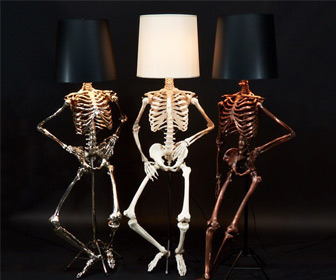 Lifesize Skeleton Floor Lamps