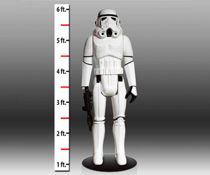Lifesize Star Wars Stormtrooper Kenner Action Figure