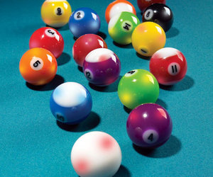 Lighted Billiard Balls
