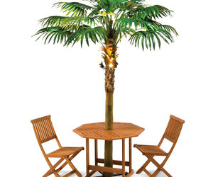 Lighted Palm Tree Umbrella