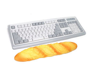 Loaf of Bread Keyboard Wrist Rest