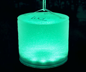 Luci Aura - Inflatable Color-Changing Solar Lantern / Mood Light