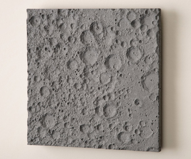 Lunar Surface Wall Sculpture