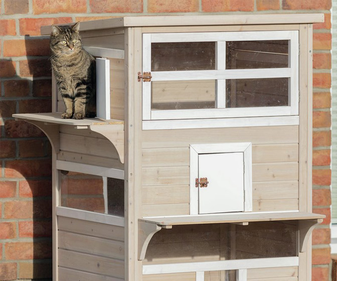 Luxurious Gatsby Cat House