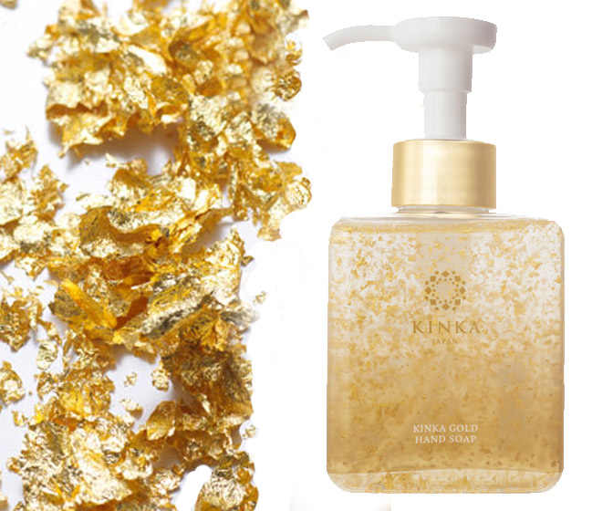 Luxurious Kinka Gold Hand Soap