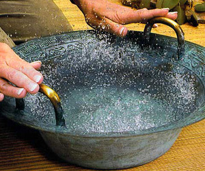 Magic Dancing Water Bowl