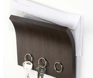 Magnetter - Invisible Magnetic Key and Letter Holder