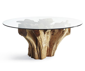Majestic Teak Root Dining Table