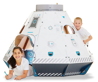 Makedo Gigantic Cardboard Construction Space Pod