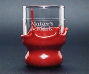 Maker's Mark Wax Dipped Shot Glasses
