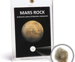 Mars Rock - Authentic Piece of Martian Meteorite