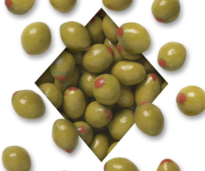 Martini Olive Chocolate Almonds