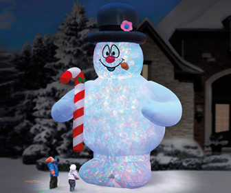 Massive 18 Foot Tall Inflatable Frosty the Snowman