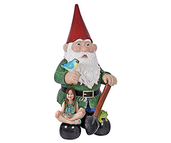 Massive 8.5 Feet Tall Garden Gnome Statue