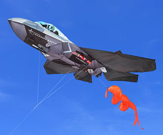Massive F-35 Lightning II 3D Kite
