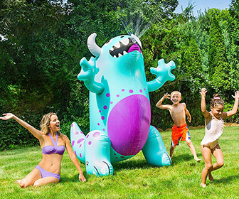 Massive Inflatable Monster Yard Sprinkler