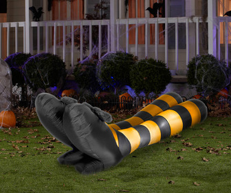 Massive Inflatable Witch Legs