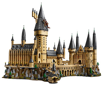Massive LEGO Harry Potter Hogwarts Castle - Over 6,000 Pieces!