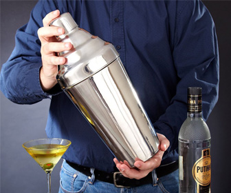 Massive Sasquatch Cocktail Shaker - Holds 110 Ounces!