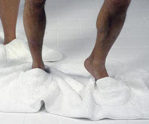 Mat Walk - Bathmat Slippers