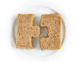 Match & Munch - Puzzle Shape Sandwich Cutters