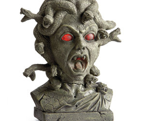 Medusa Animated Halloween Bust