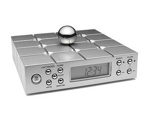Memory Ball Alarm Clock and Radio