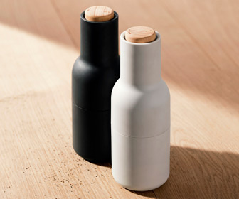 Menu Salt and Pepper Bottle Grinders