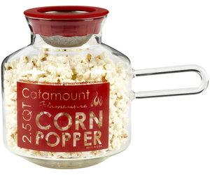 Microwave Popcorn Popper with Butter Melting Lid
