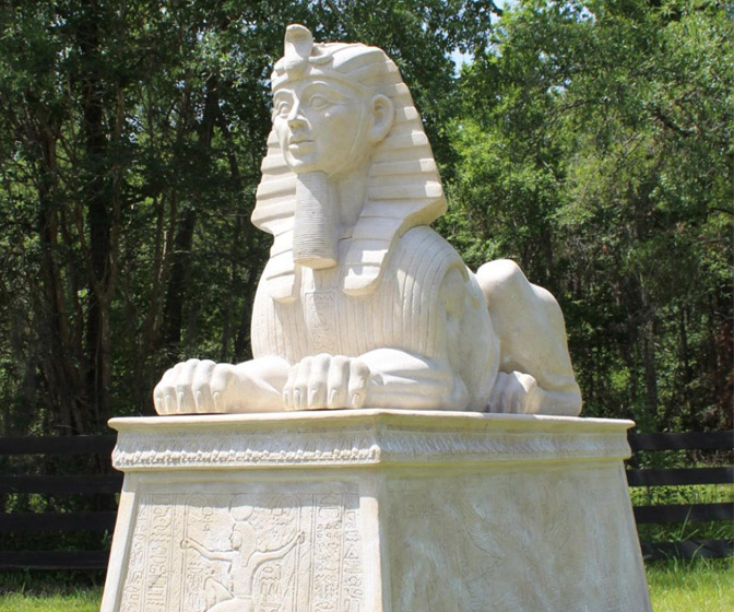 Miniature Great Sphinx Statue
