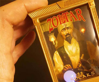 Miniature Zoltar Speaks Fortune Teller Machine