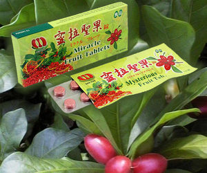Miracle Berry Fruit Tablets - Make Sour Foods Taste Sweet