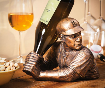 Bam Vino - Baseball Bat Wine Bottle Holder