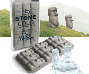 Moai of Easter Island Ice Cube Tray