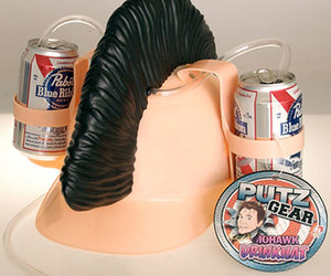 Mohawk Drink Hat