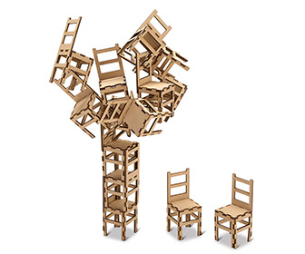 MoMA Sculptural Chair Stacking Game