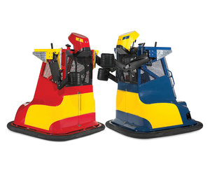 Motorized Boxing Bumper Cars