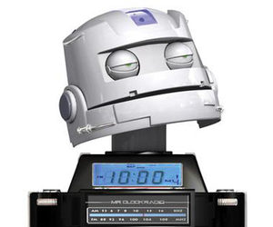 Mr. Clock Radio - World's First Robot Radio!