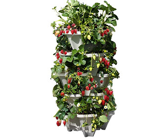 Mr. Stacky - Vertical 5-Tier Strawberry / Herb / Flower Planter