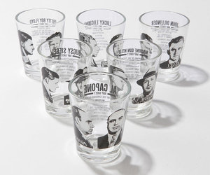 Mug Shots Shot Glasses