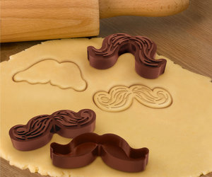 Munchstache - Mustache Cookie Cutters