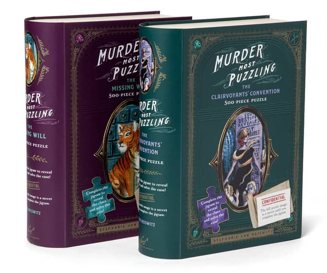 Murder Mystery Jigsaw Puzzles