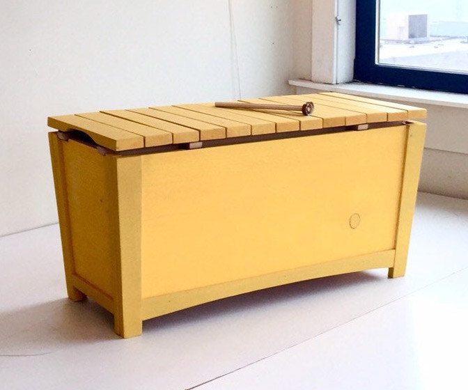 Musical Toy Chest with Xylophone Lid