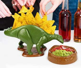 NACHOsaurus - Prehistoric Snack and Dip Bowl
