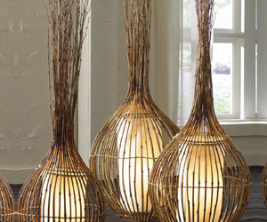 Natural Bamboo Lamps