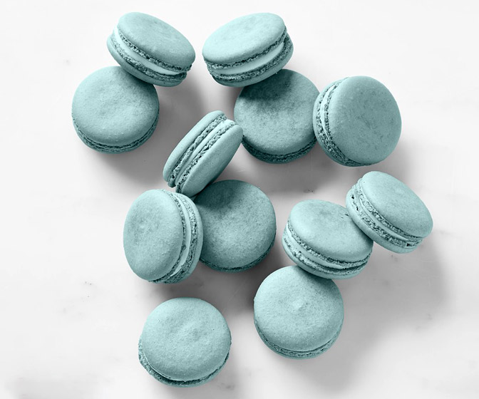 Nevarro Nummies - Grogu's Blue Macarons From Star Wars The Mandalorian