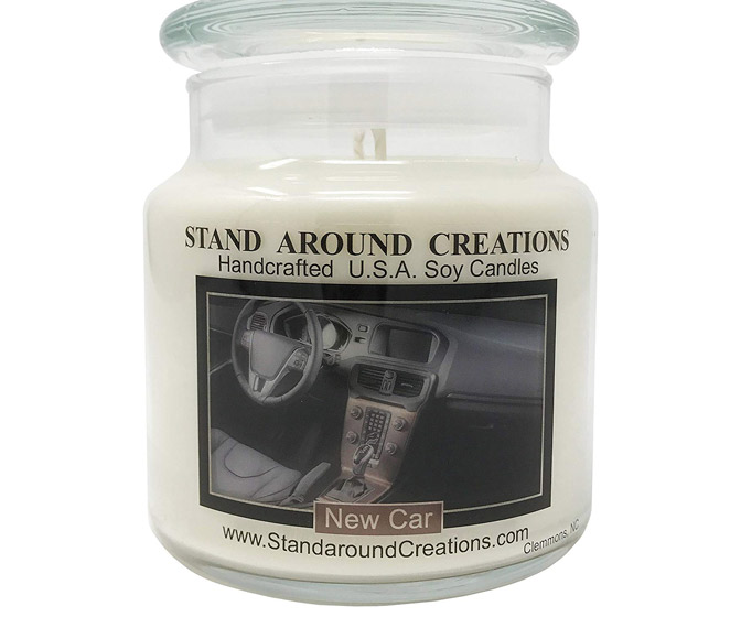 New Car Scent Candle