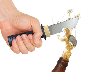 Ninja Sword Bottle Opener