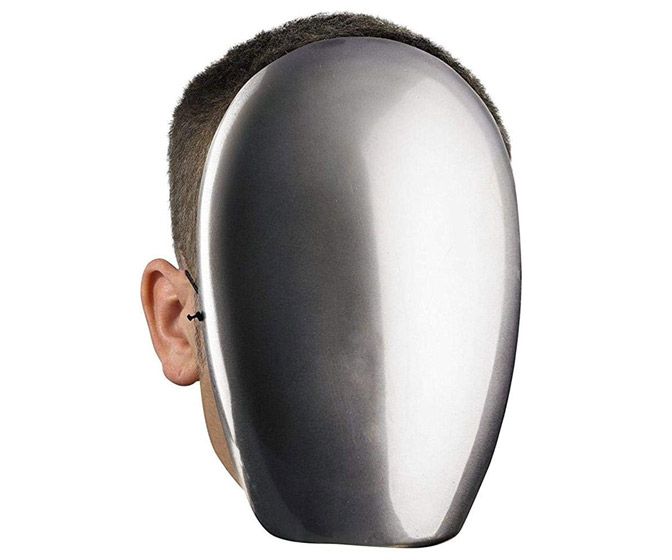 No Face Halloween Mirror Mask / Anonymous Disguise